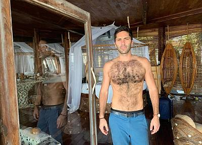 nev schulman shirtless body