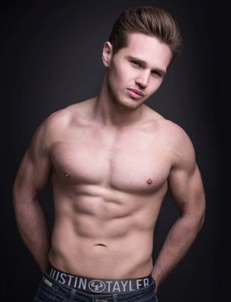 Danny Walters shirtless