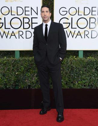 are skinny ties still in 2017 - david schwimmer golden globes