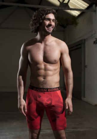 celebrities wearing bjorn borg underwear joe wicks