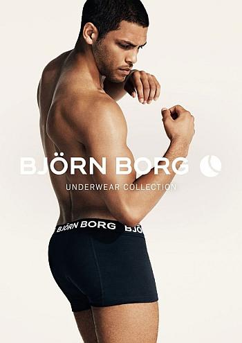 bjorn borg male underwear models - Isha Blaaker