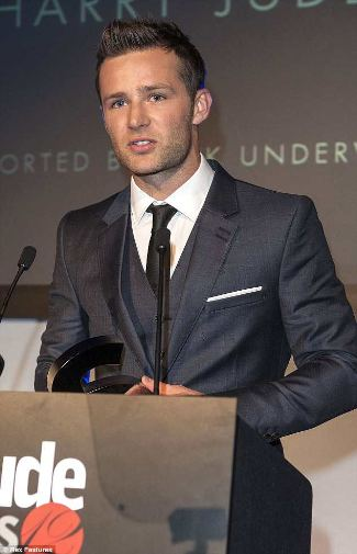 harry judd hootest man of the year - attitude