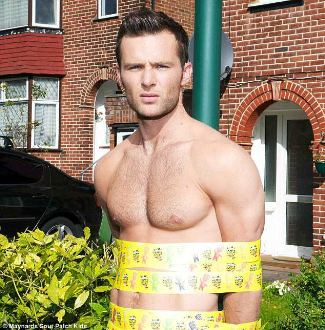 harry judd shirtless body chest hair