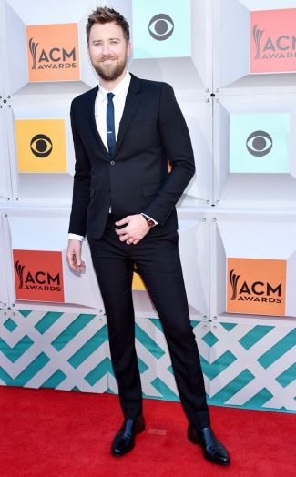 mens skinny in or out 2016 - charles kelly acm red carpet