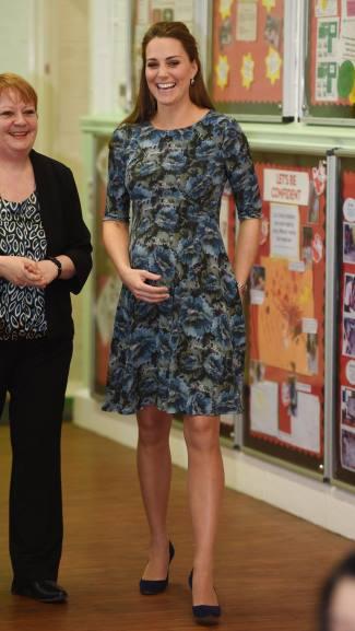 short maternity dress kate middleton