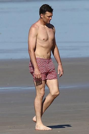 tom brady shirtless - boxer shorts underwear