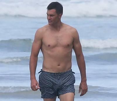 tom brady underwear - short shorts