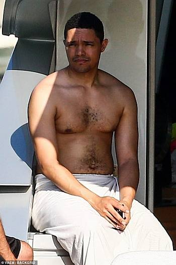 trevor noah shirtless