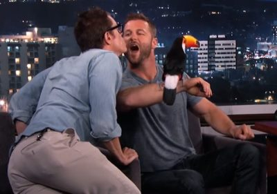 dave salmoni gay kiss with johnny knoxville
