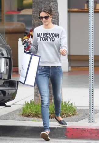 hudson jeans for girls alessandra ambrosio