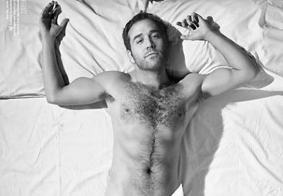 jeremy piven shirtless body hair