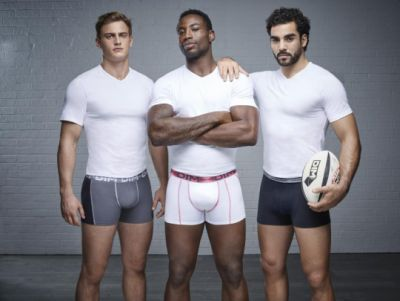 rugby players underwear by dim - Jules Plisson Fulgence Ouedraogo and Yoann Huget2