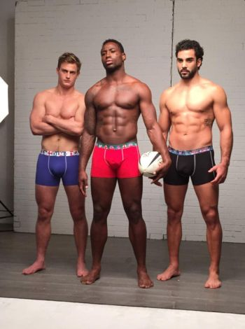 rugby players underwear by dim - Jules Plisson Fulgence Ouedraogo and Yoann Huget3