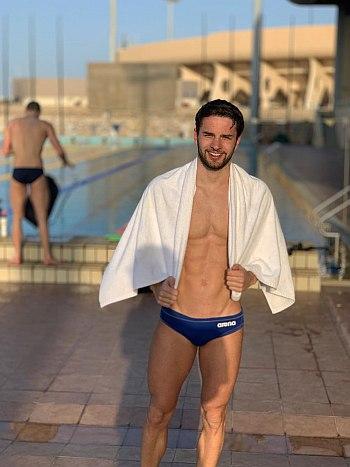 Arno Kamminga arena swimsuit speedo