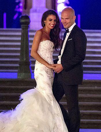 Fredrik Ljungberg wedding - wife natalie foster