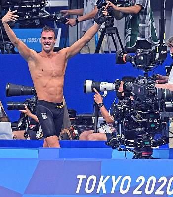 Gregorio Paltrinieri arena tokyo olympics