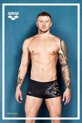 arena swimsuit for men - adam peaty ambassador