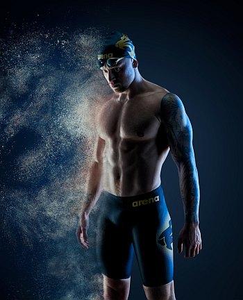 arena swimwear celebrity endorser ambassadors - adam peaty