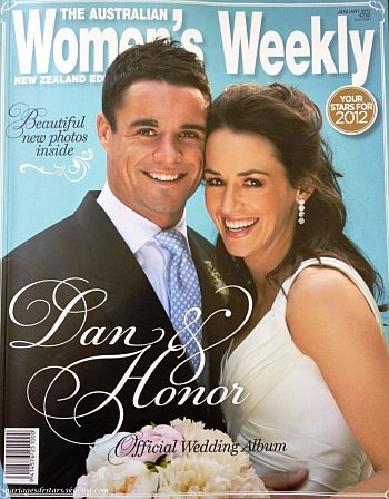 dan carter wedding to wife honor dillon