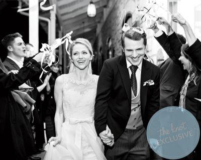 freddie stroma wedding with Johanna Braddy