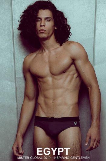 hot arab men in speedo - Adam Hussein is Mister Global Egypt 2019