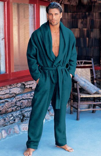 james hyde hot in robe - international male magazine model
