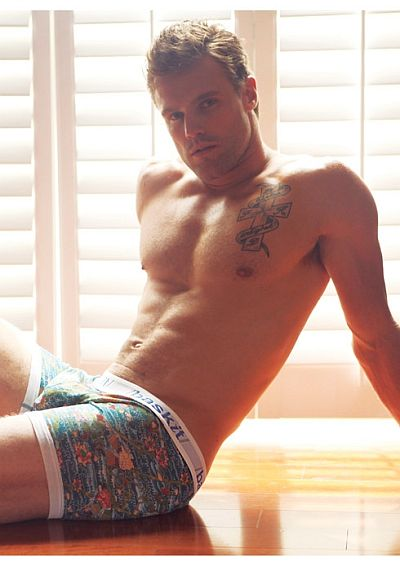nick youngquest underwear model for baskit