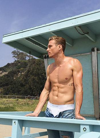 moschino male underwear models - matthew noszka2