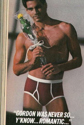 red underwear for men vintage
