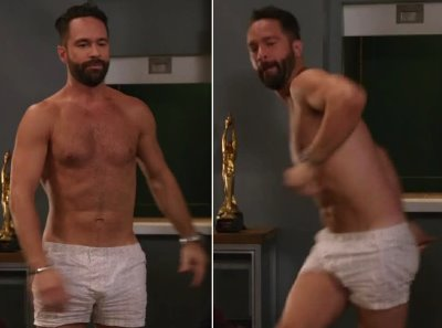 Chris Diamantopoulos underwear