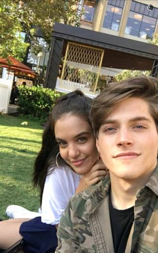 Froy Gutierrez girlfriend lilimar hernandez