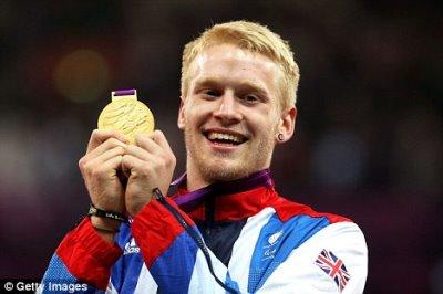 Jonnie Peacock olympic gold medalist