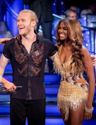 Jonnie Peacock strictly come dancing partner oti mabuse