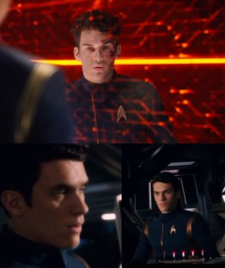 Sam Vartholomeos star trek - ensign connor
