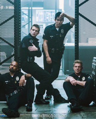 david lim hot police uniform - swat