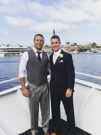 jp hilsabeck gay wedding - husband partner boyfriend or friend