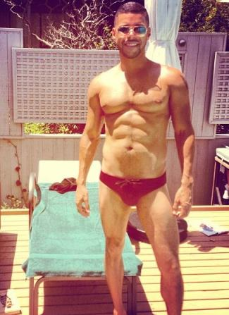 wilson cruz speedo