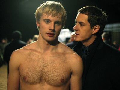 Bradley James shirtless2