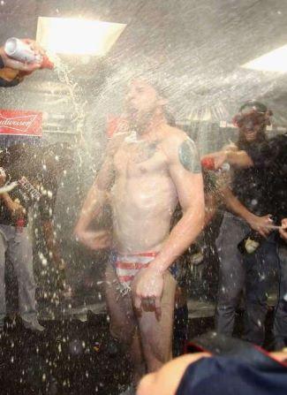 Josh Reddick Speedo baseball star