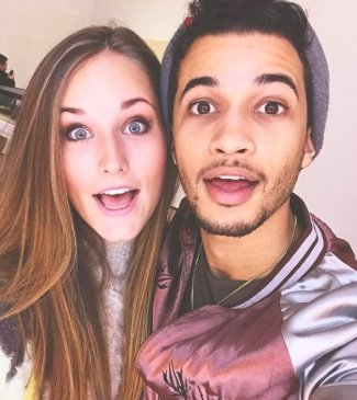 jordan fisher girlfriend ellie woods