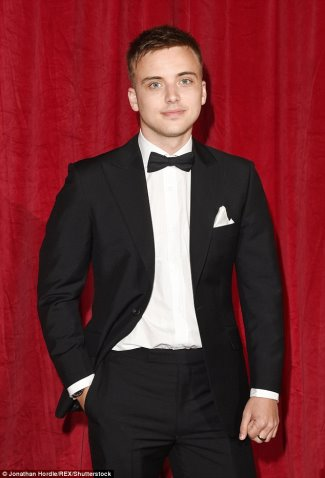 parry glasspool sexy in suit