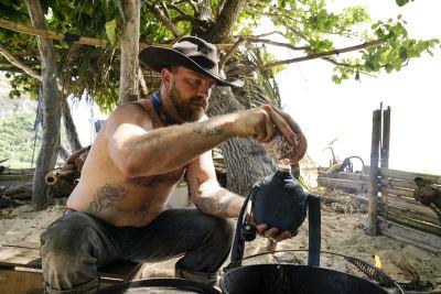 Ben Driebergen survivor shirtless