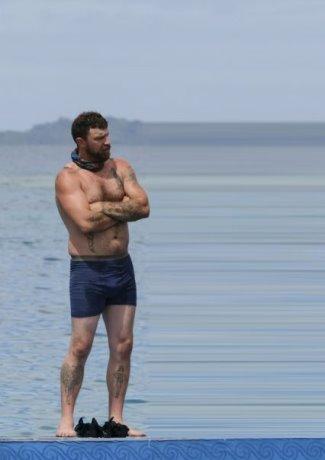 Ben Driebergen underwear survivor