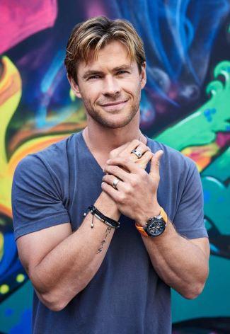 Chris Hemsworth TAG Heuer spokesperson