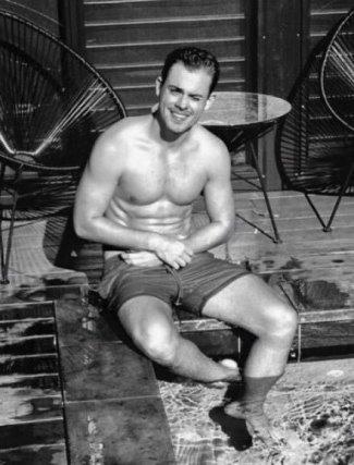 Dacre Montgomery shirtless body