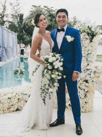 Henry Golding wife girlfriend Liv Lo