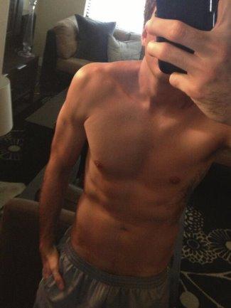 arie luyendyk shirtless