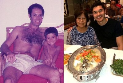 henry golding parents father and mother