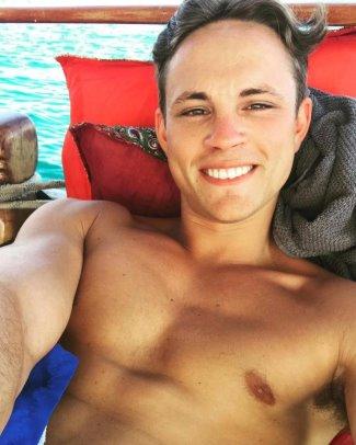 james white shirtless