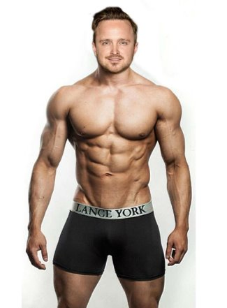 Aaron Paul underwear Muscle Morph 6 by horber